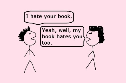 hate your book