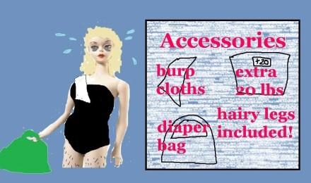 Postpartum Barbie
