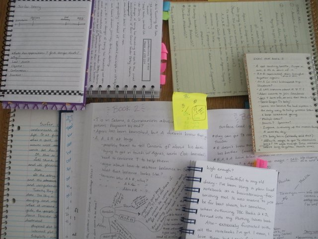 too many notebooks