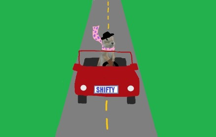 Col Shifty Goes for a Drive